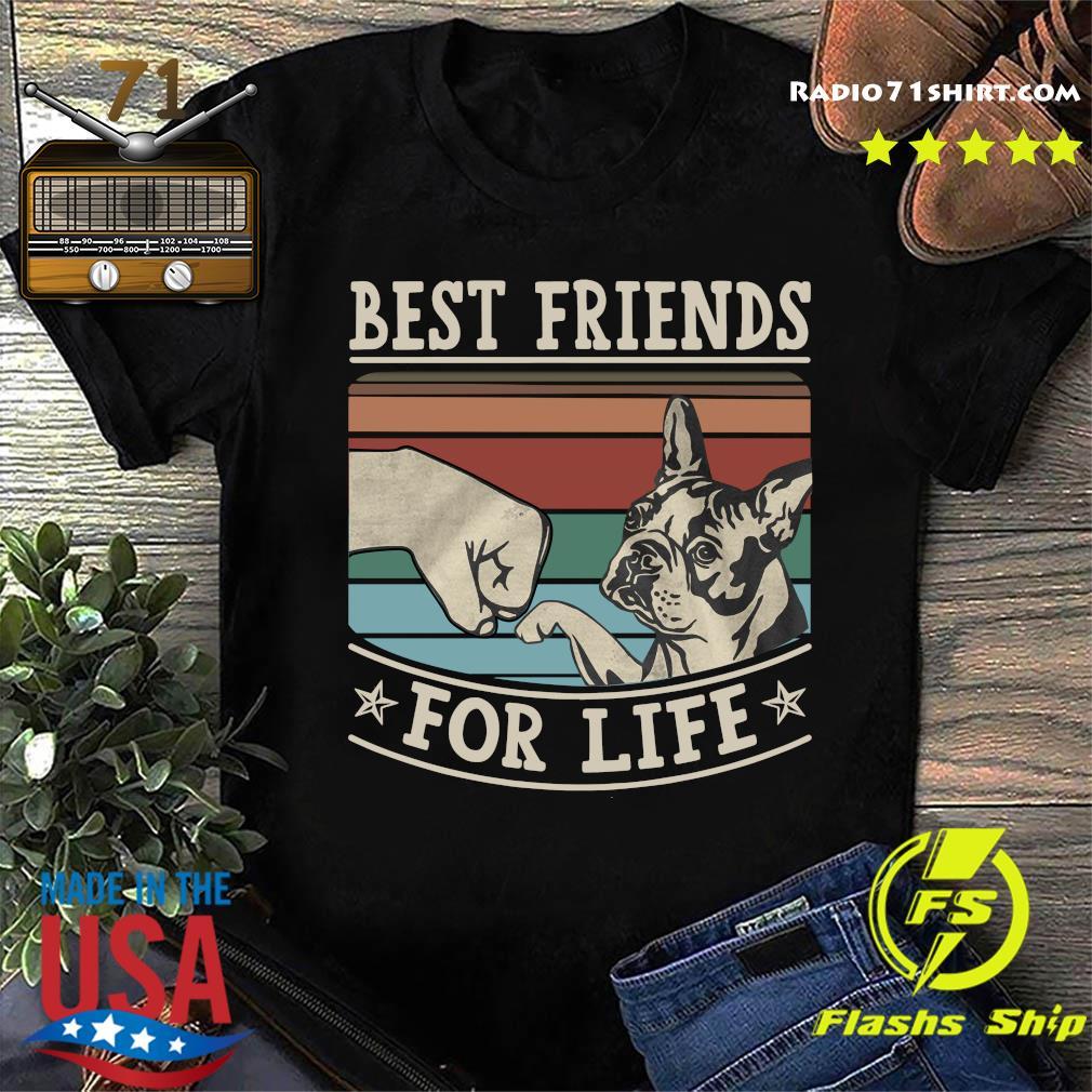 Pitbull Best Friends For Life Vintage Shirt