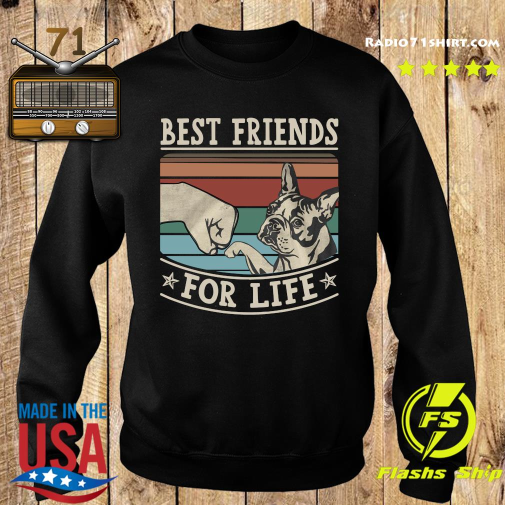 Pitbull Best Friends For Life Vintage Shirt Sweater