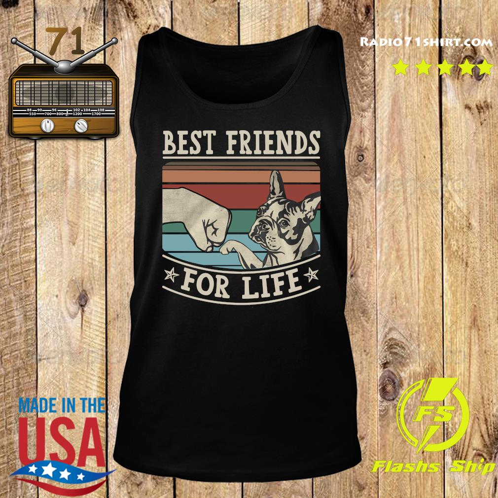 Pitbull Best Friends For Life Vintage Shirt Tank top