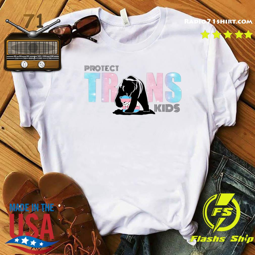 Protect Trans Kids And Mama Bear Transgender Lgbt Shirt