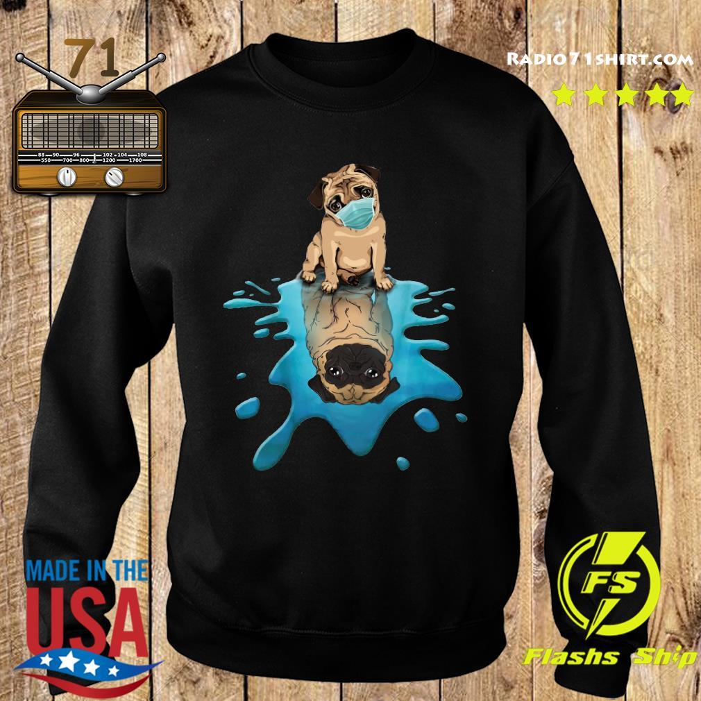 Pug Dog Face Mask Shirt Sweater