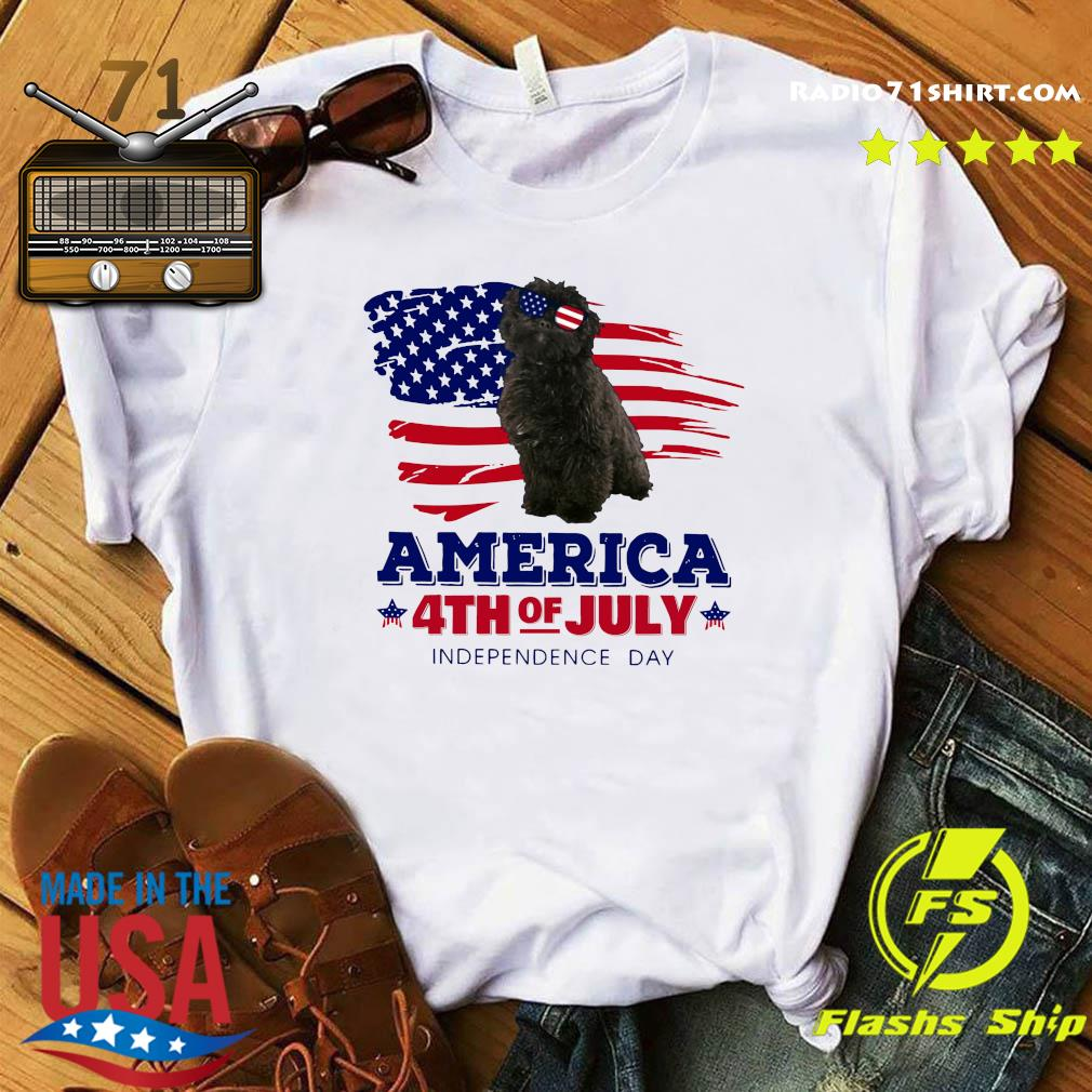 Puli Dog America 4th Of July Independence Day Shirt