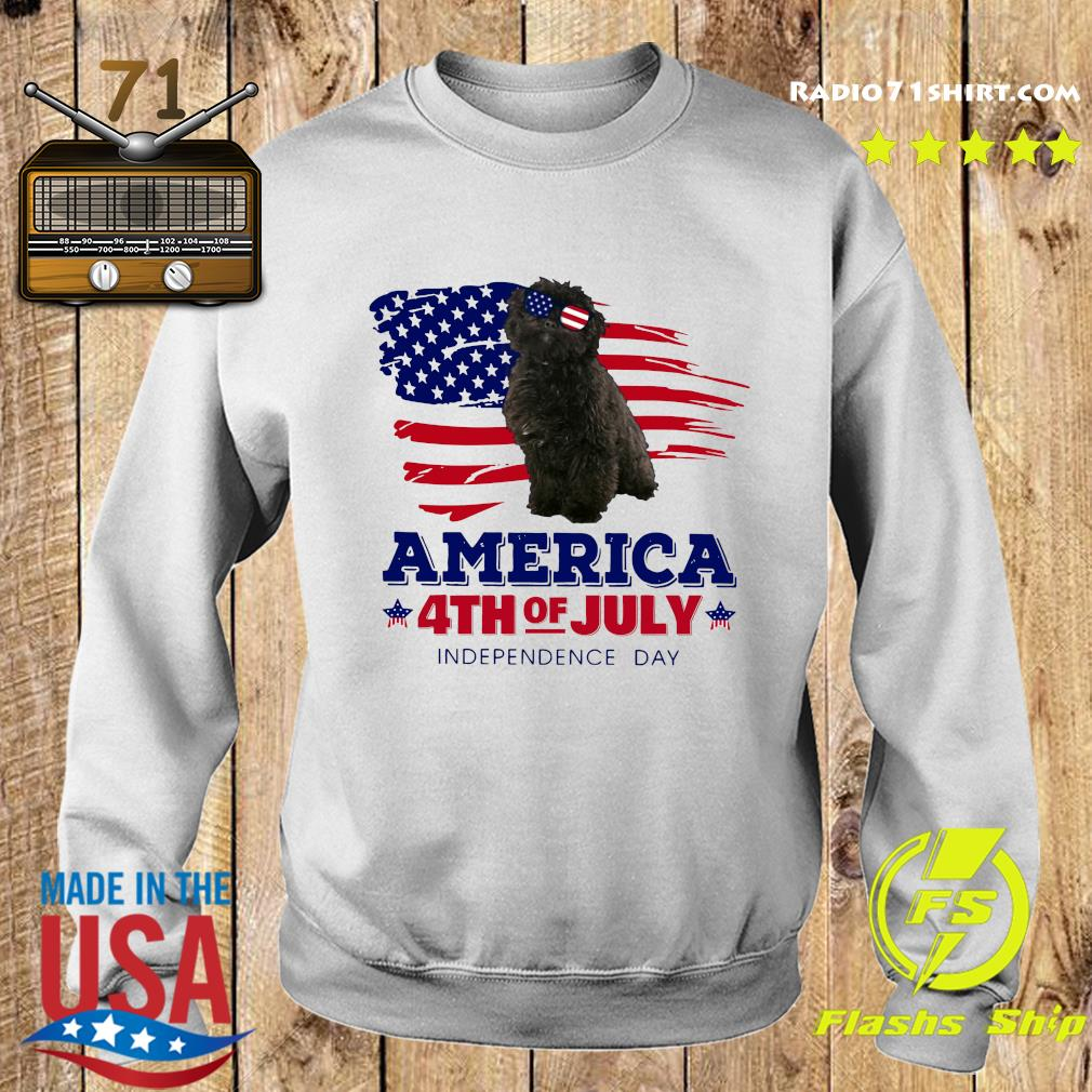 Puli Dog America 4th Of July Independence Day Shirt Sweater