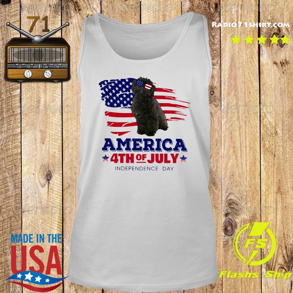 Puli Dog America 4th Of July Independence Day Shirt Tank top