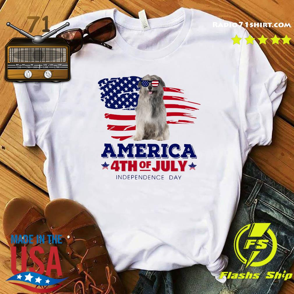 Pyrenean Shepherd America 4th Of July Independence Day Shirt