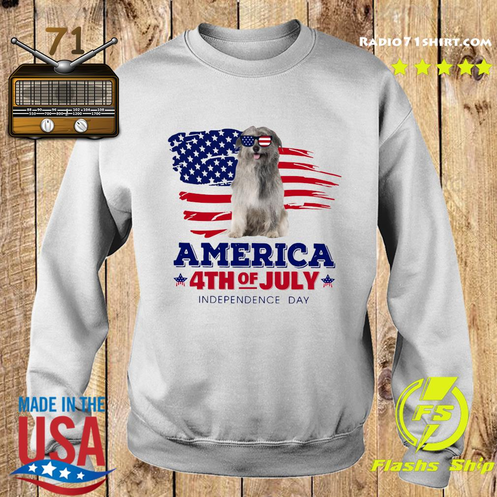 Pyrenean Shepherd America 4th Of July Independence Day Shirt Sweater