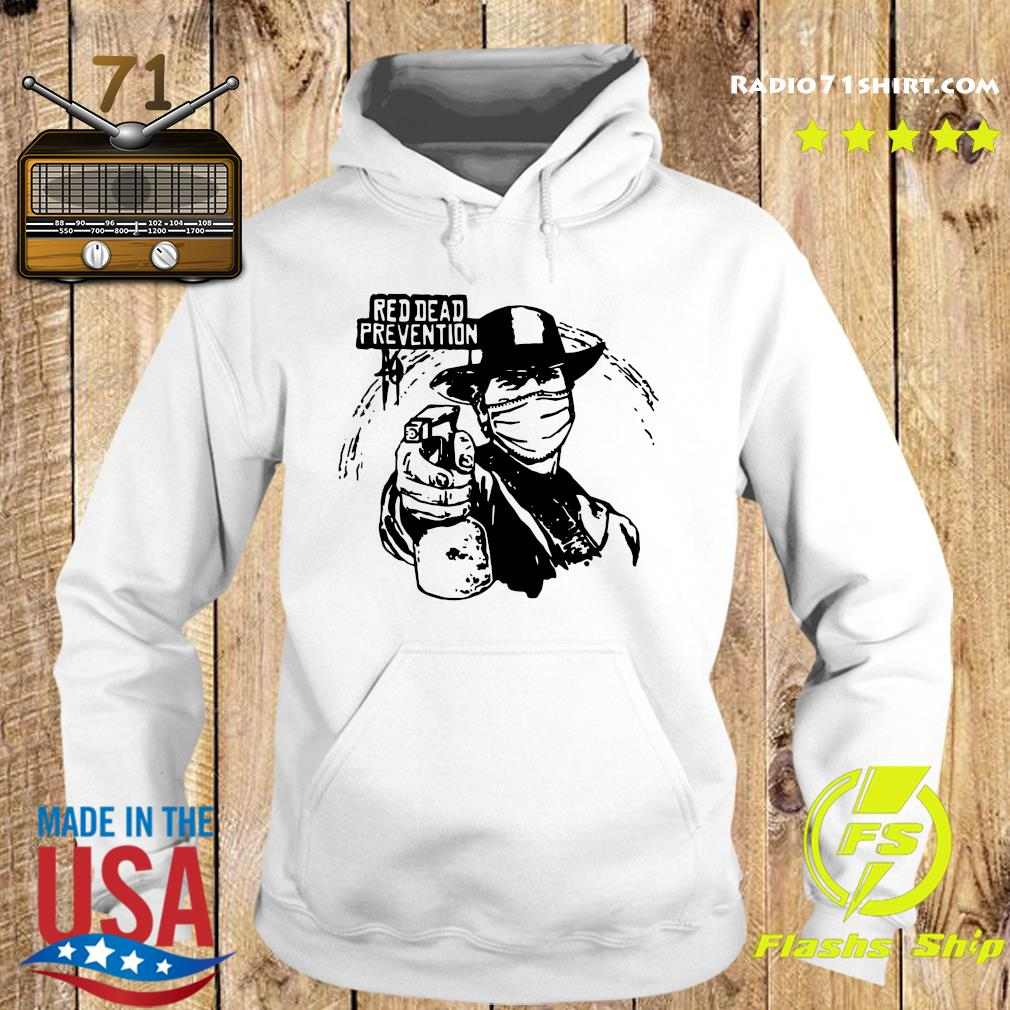 Red Dead Prevention Shirt Hoodie