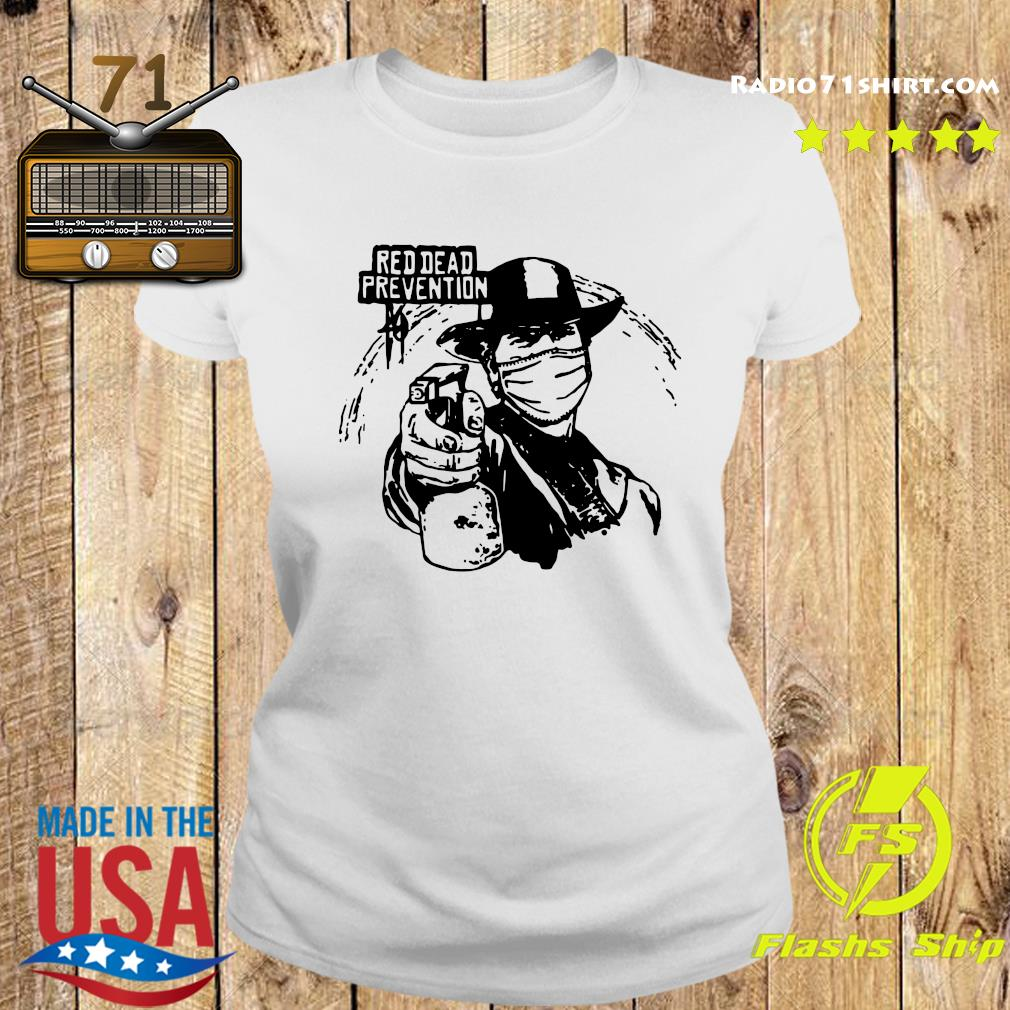 Red Dead Prevention Shirt Ladies tee
