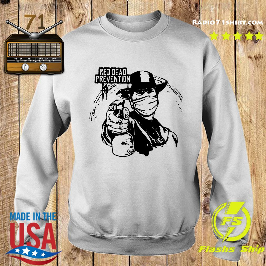 Red Dead Prevention Shirt Sweater