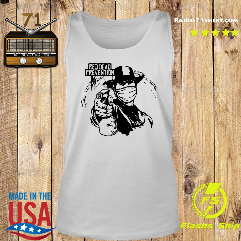 Red Dead Prevention Shirt Tank top