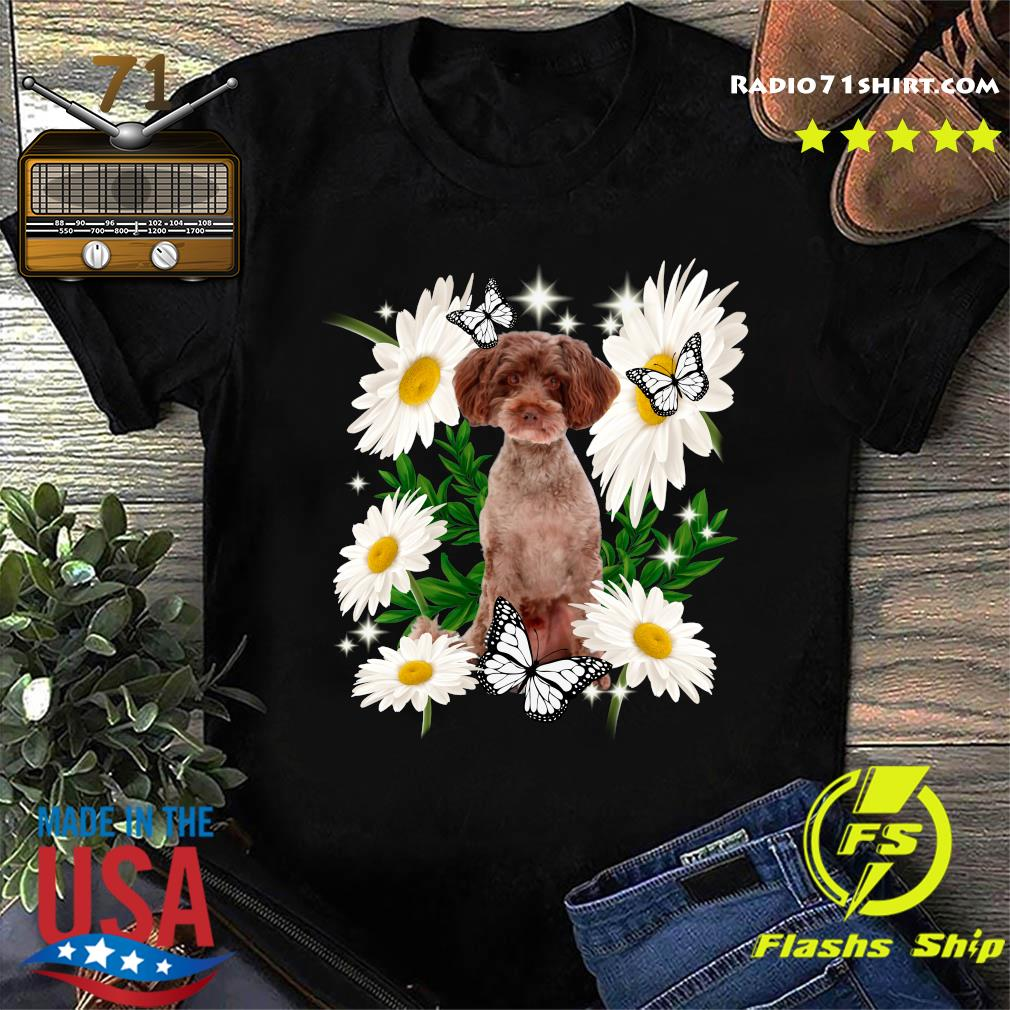 Schnoodle Dog Daisy flower Classic T-Shirt