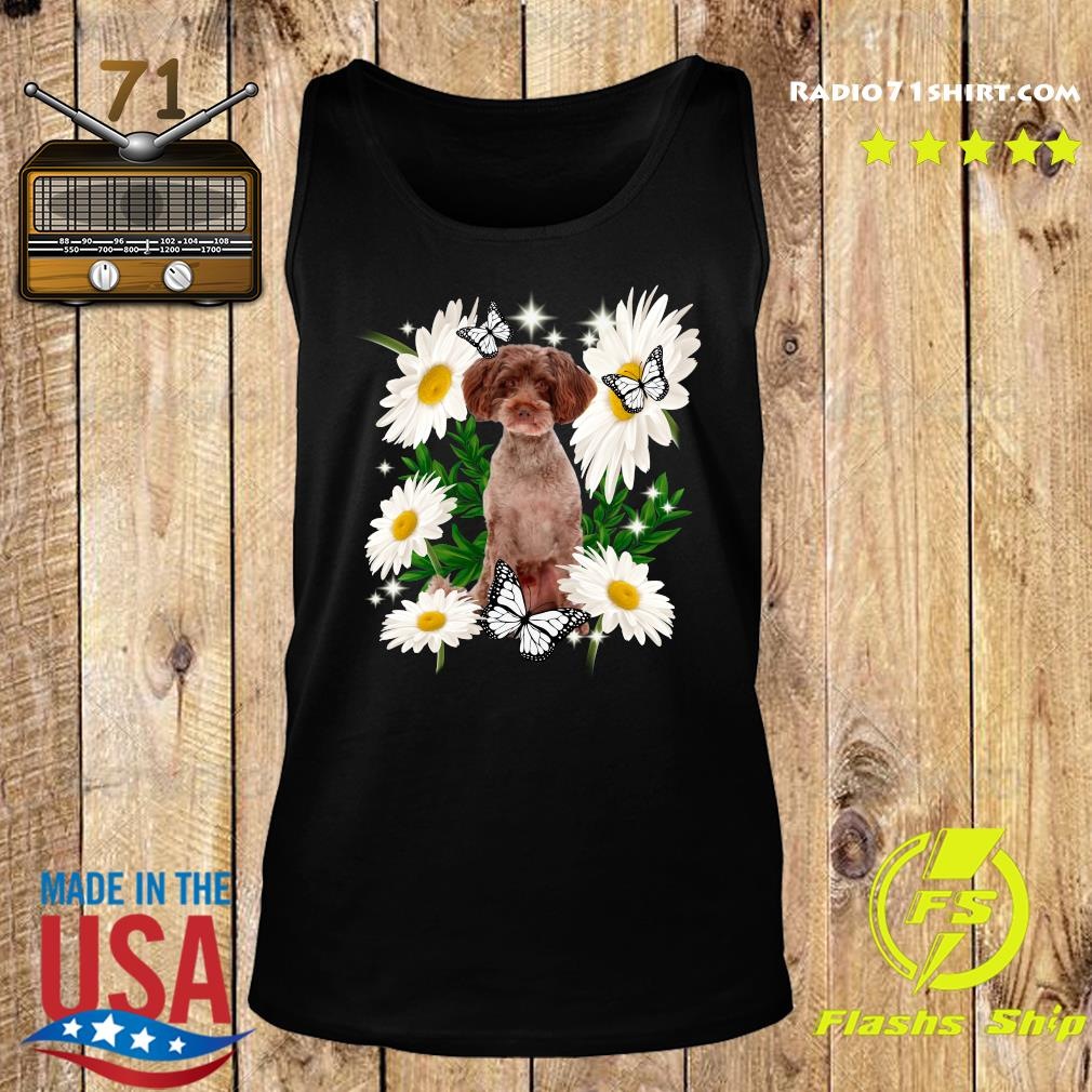 Schnoodle Dog Daisy flower Classic T-Shirt Tank top
