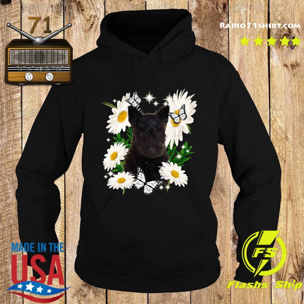 Scottish Terrier Daisy flower Classic T-Shirt Hoodie