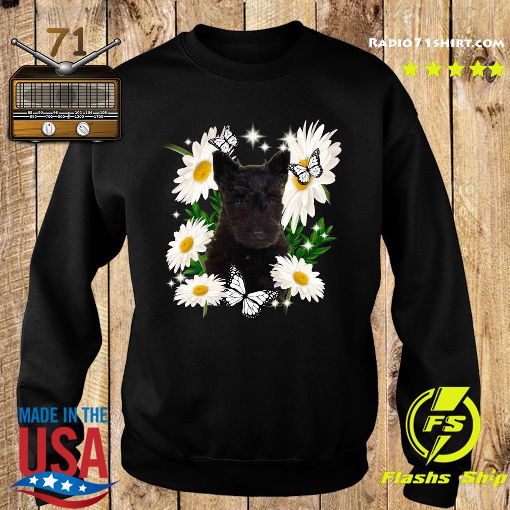 Scottish Terrier Daisy flower Classic T-Shirt Sweater