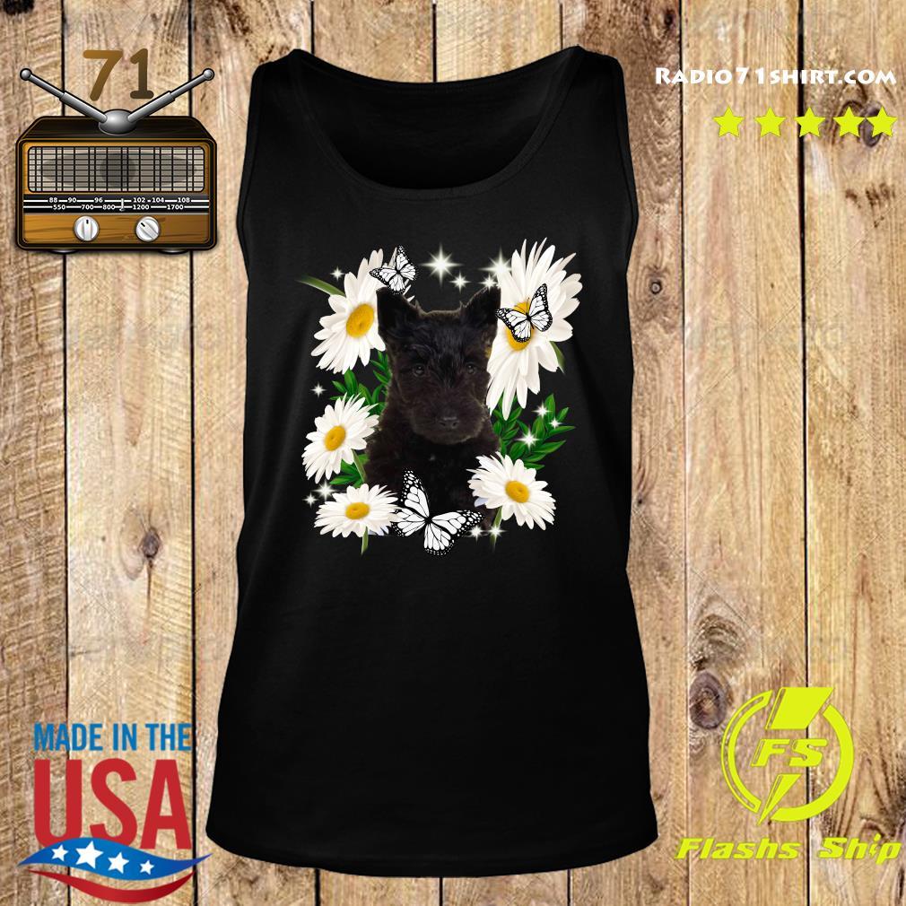 Scottish Terrier Daisy flower Classic T-Shirt Tank top