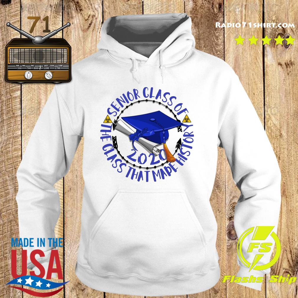 Senior Class of 2020 the class that made his story blue royal s Hoodie