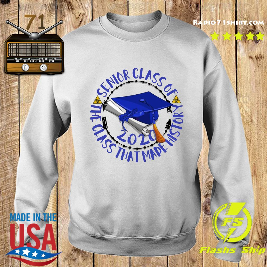 Senior Class of 2020 the class that made his story blue royal s Sweater