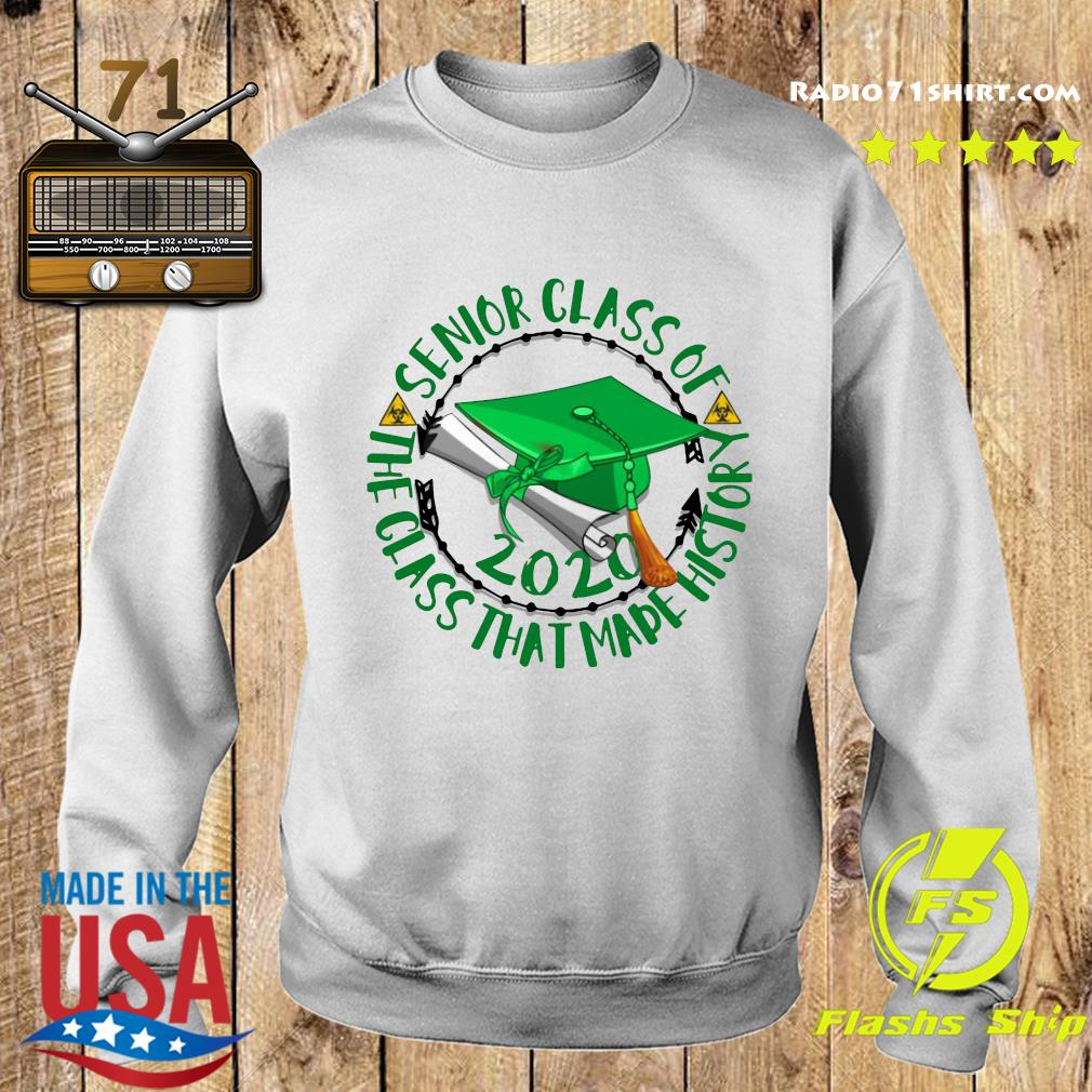 Senior Class of 2020 the class that made his story green s Sweater