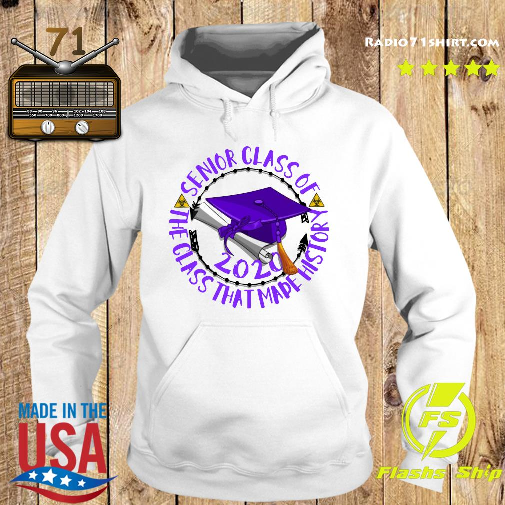 Senior Class of 2020 the class that made his story purple s Hoodie