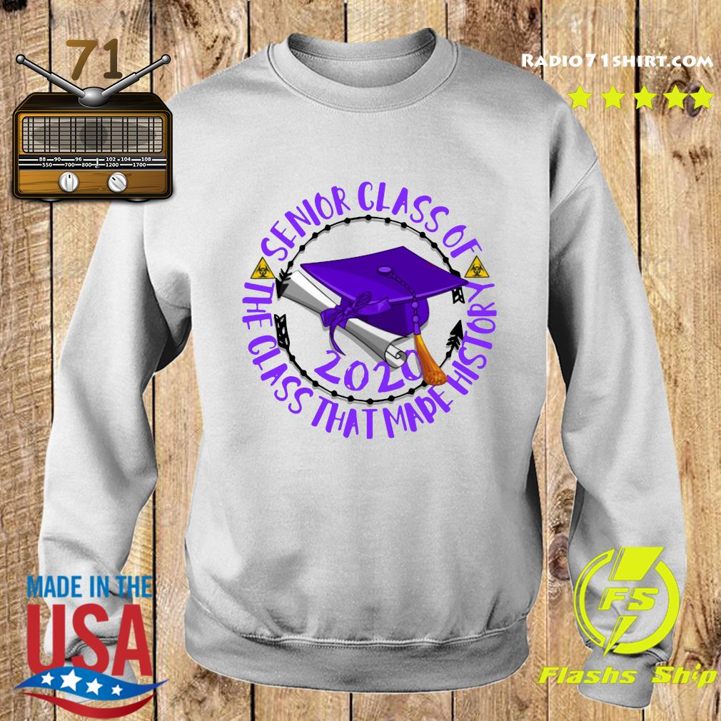 Senior Class of 2020 the class that made his story purple s Sweater