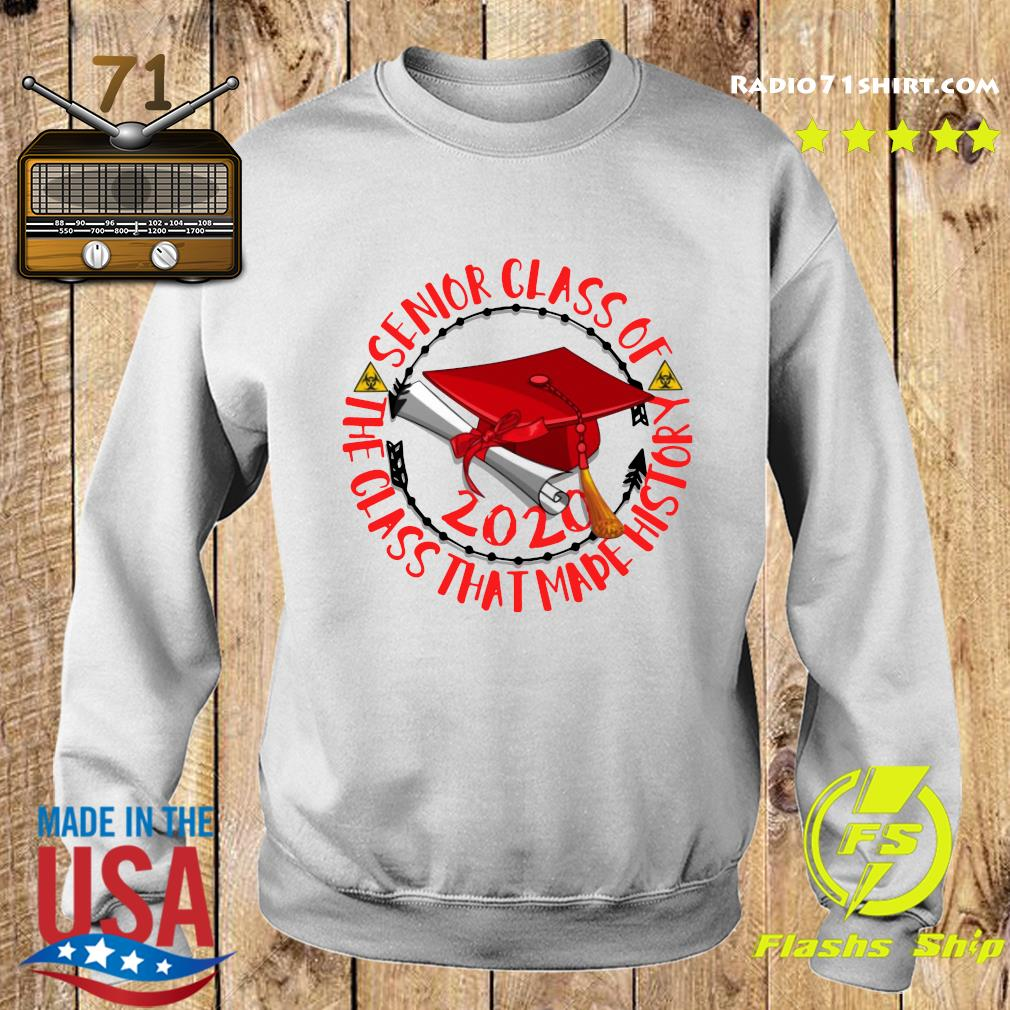 Senior Class of 2020 the class that made his story red Shirt Sweater