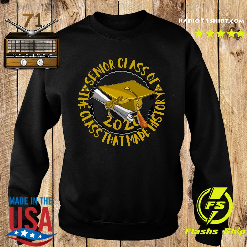 Senior Class of 2020 the class that made his story yellow s Sweater