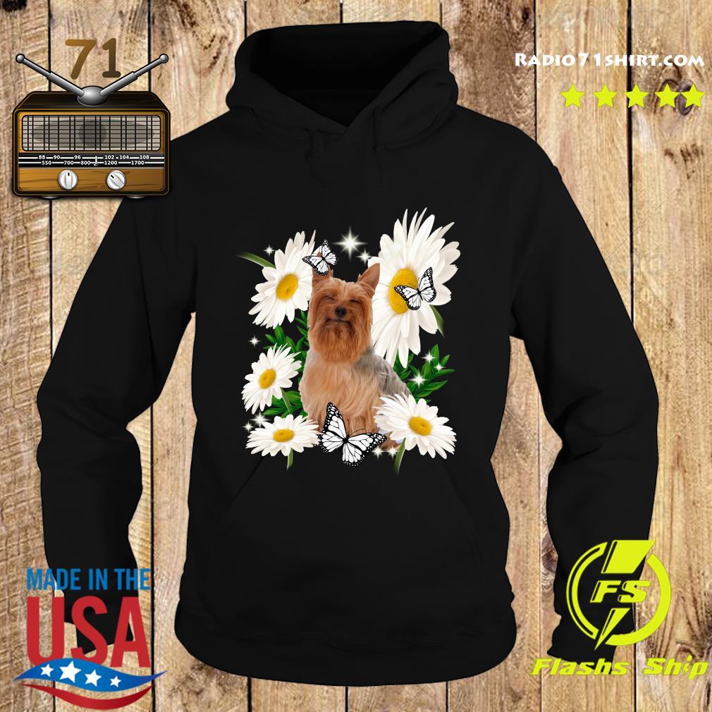 Silky Terrier Daisy flower Classic T-Shirt Hoodie