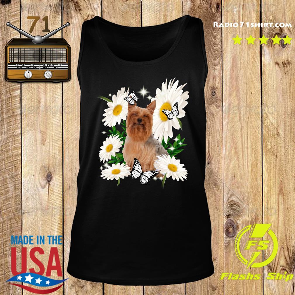 Silky Terrier Daisy flower Classic T-Shirt Tank top