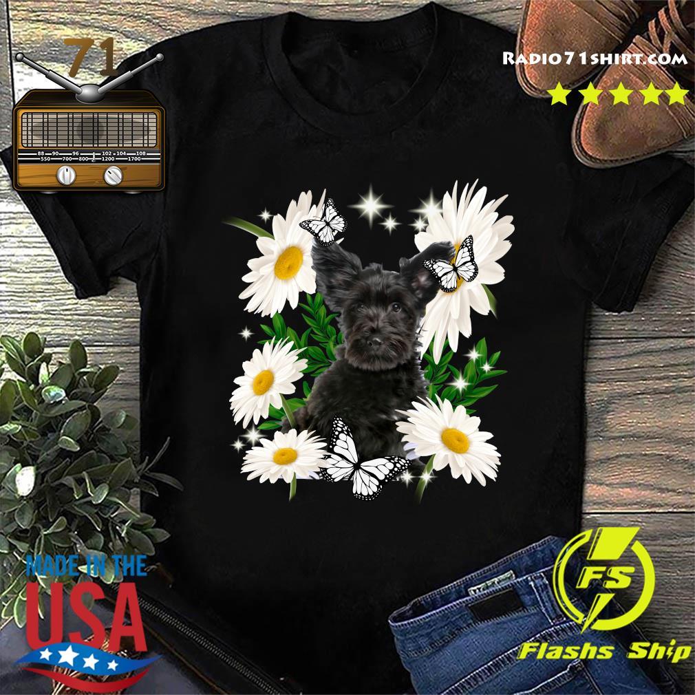 Skye Terrier Daisy flower Classic T-Shirt