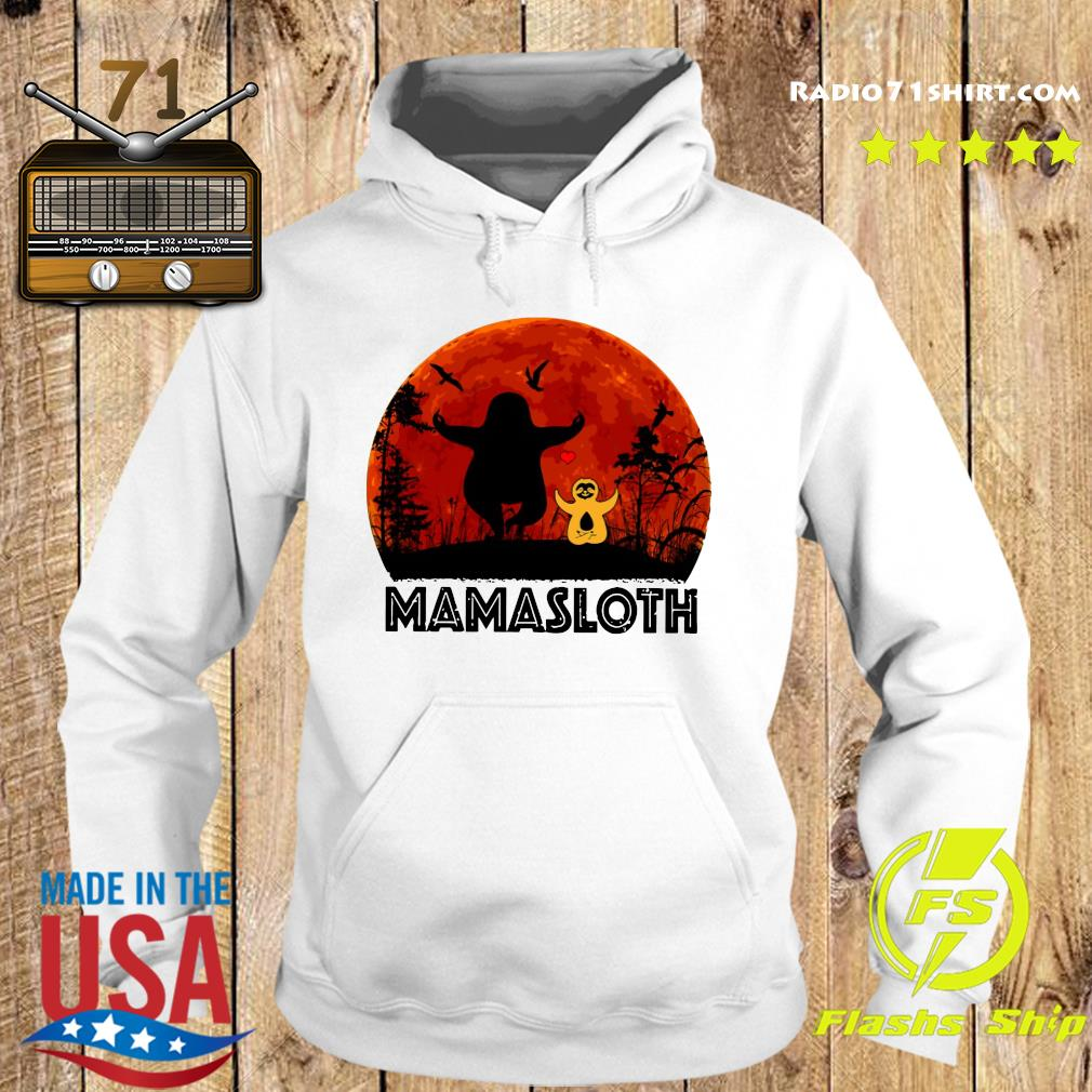 Sloth Mamasloth Shirt Hoodie