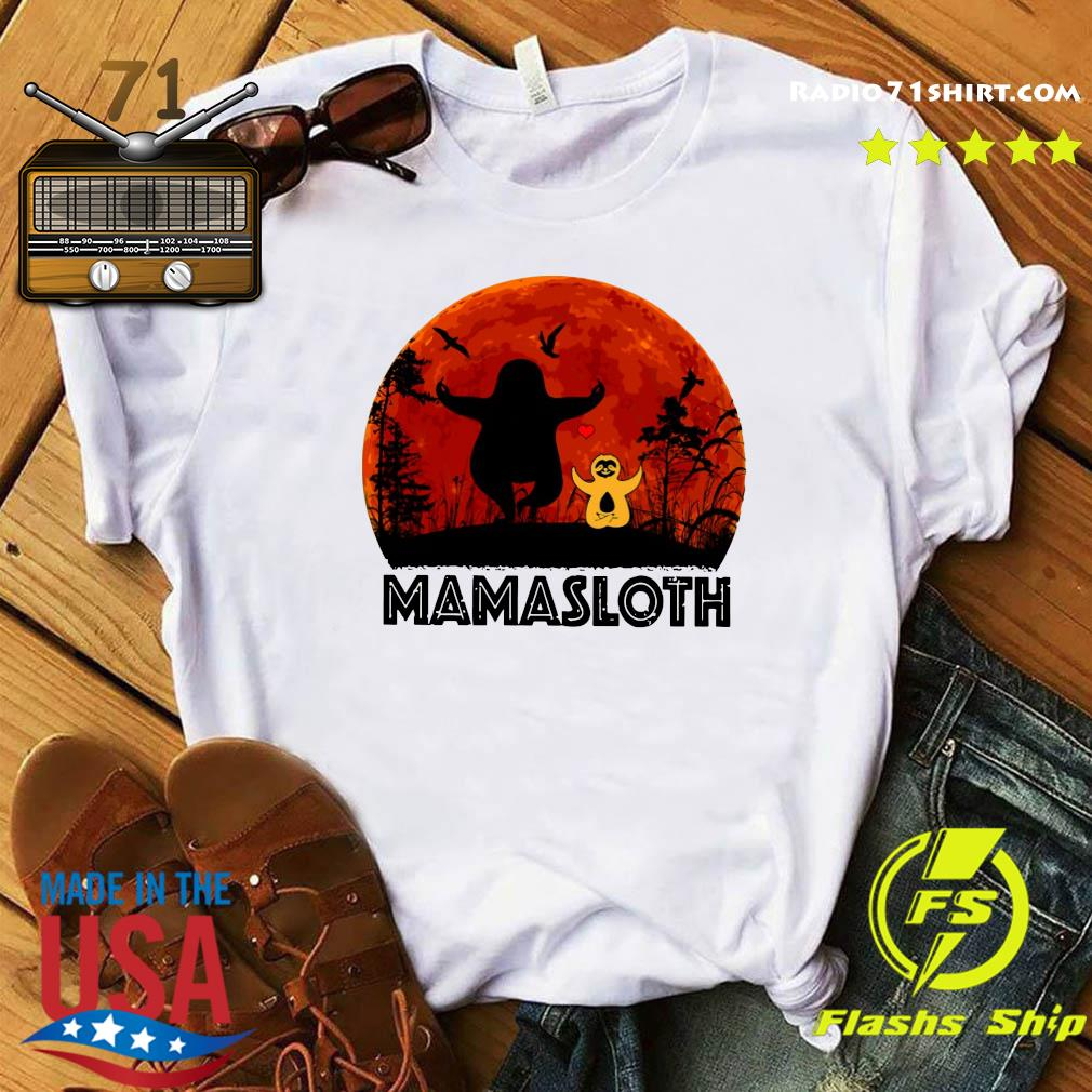 Sloth Mamasloth Shirt
