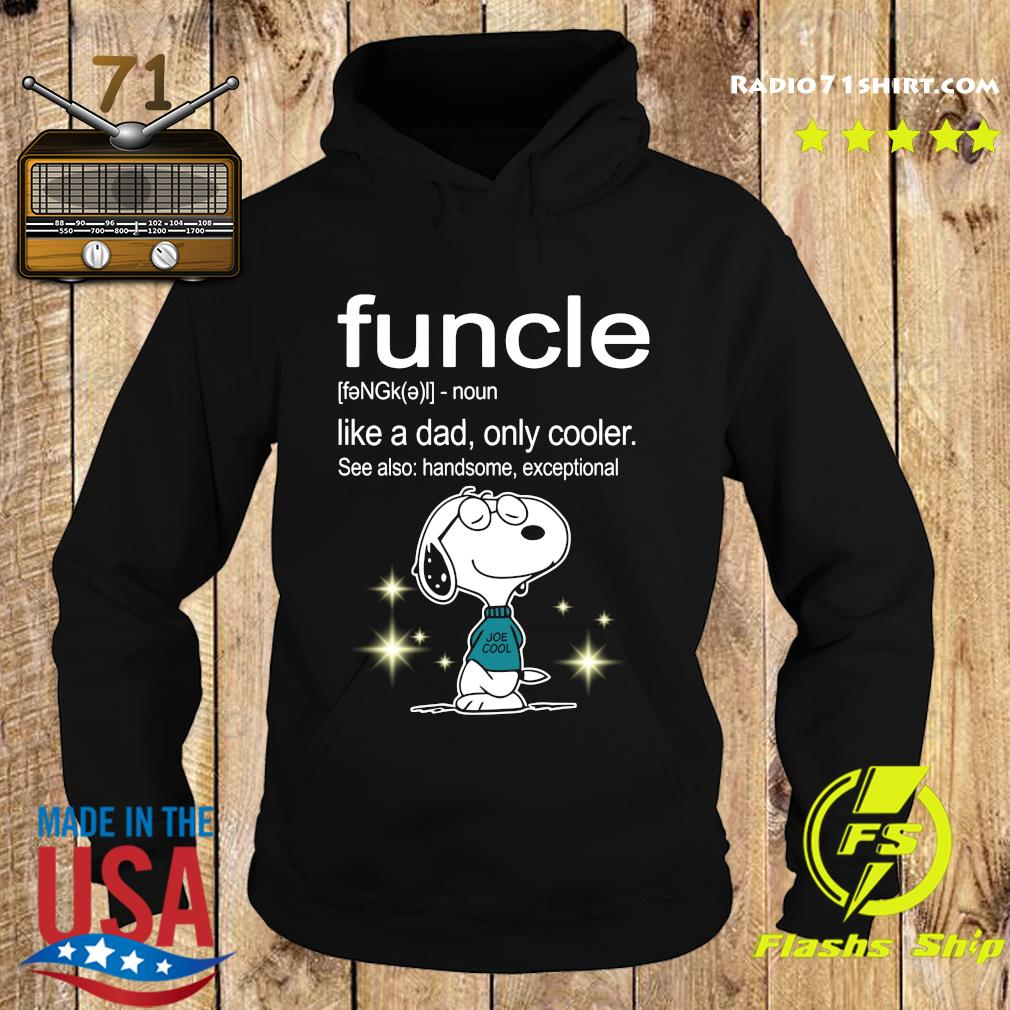 Snoopy Funcle Definition Shirt Hoodie