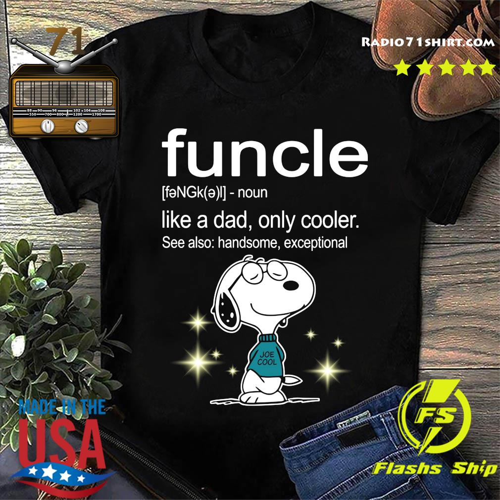 Snoopy Funcle Definition Shirt