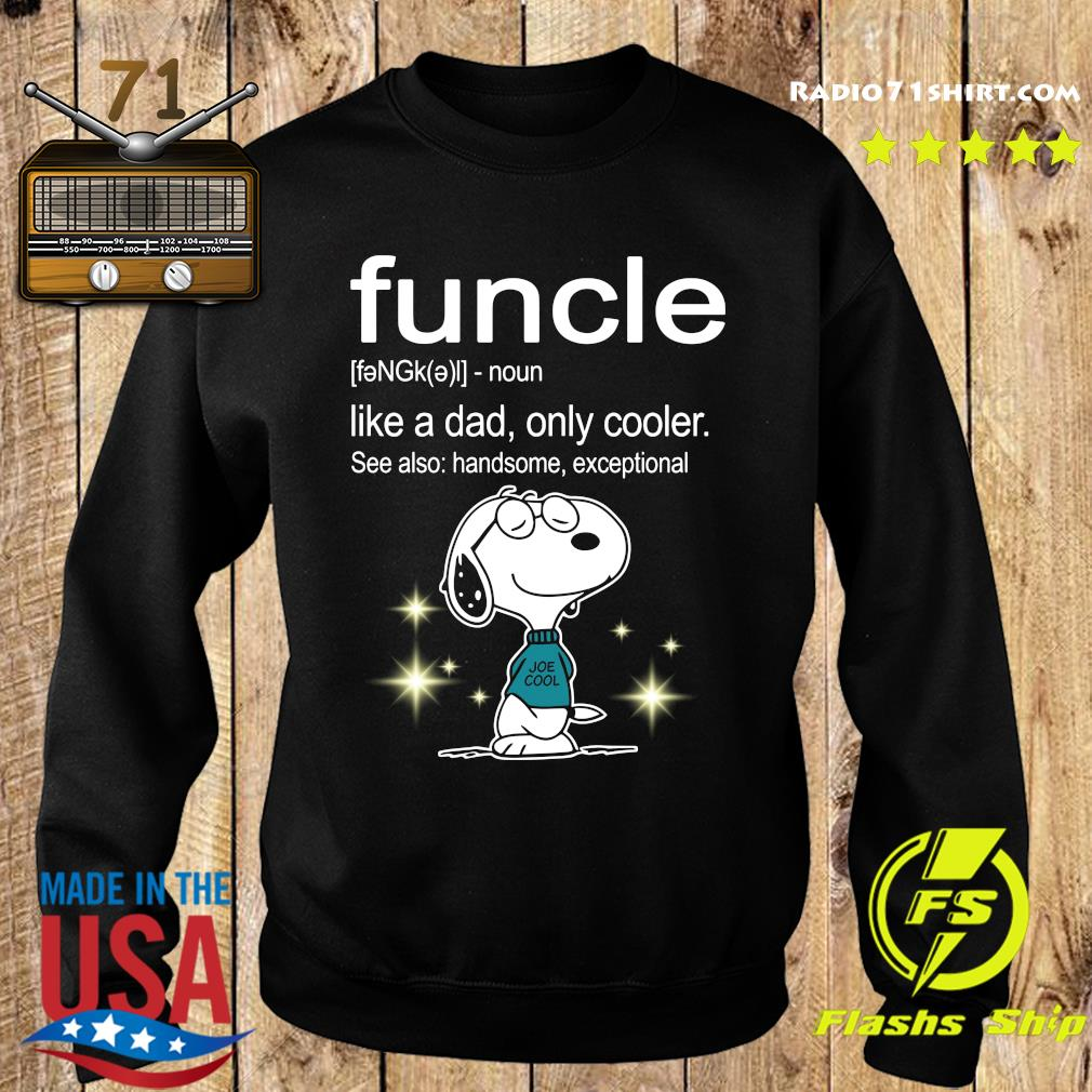 Snoopy Funcle Definition Shirt Sweater