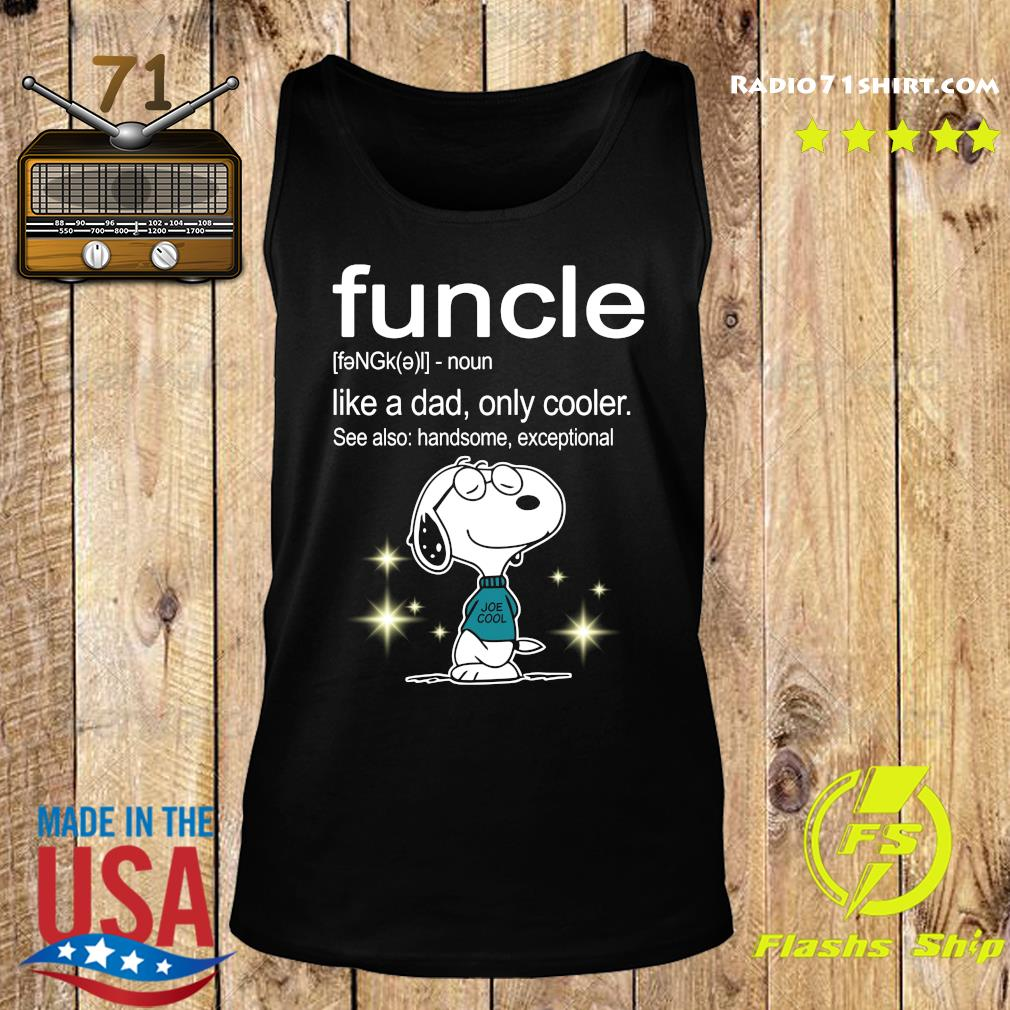 Snoopy Funcle Definition Shirt Tank top