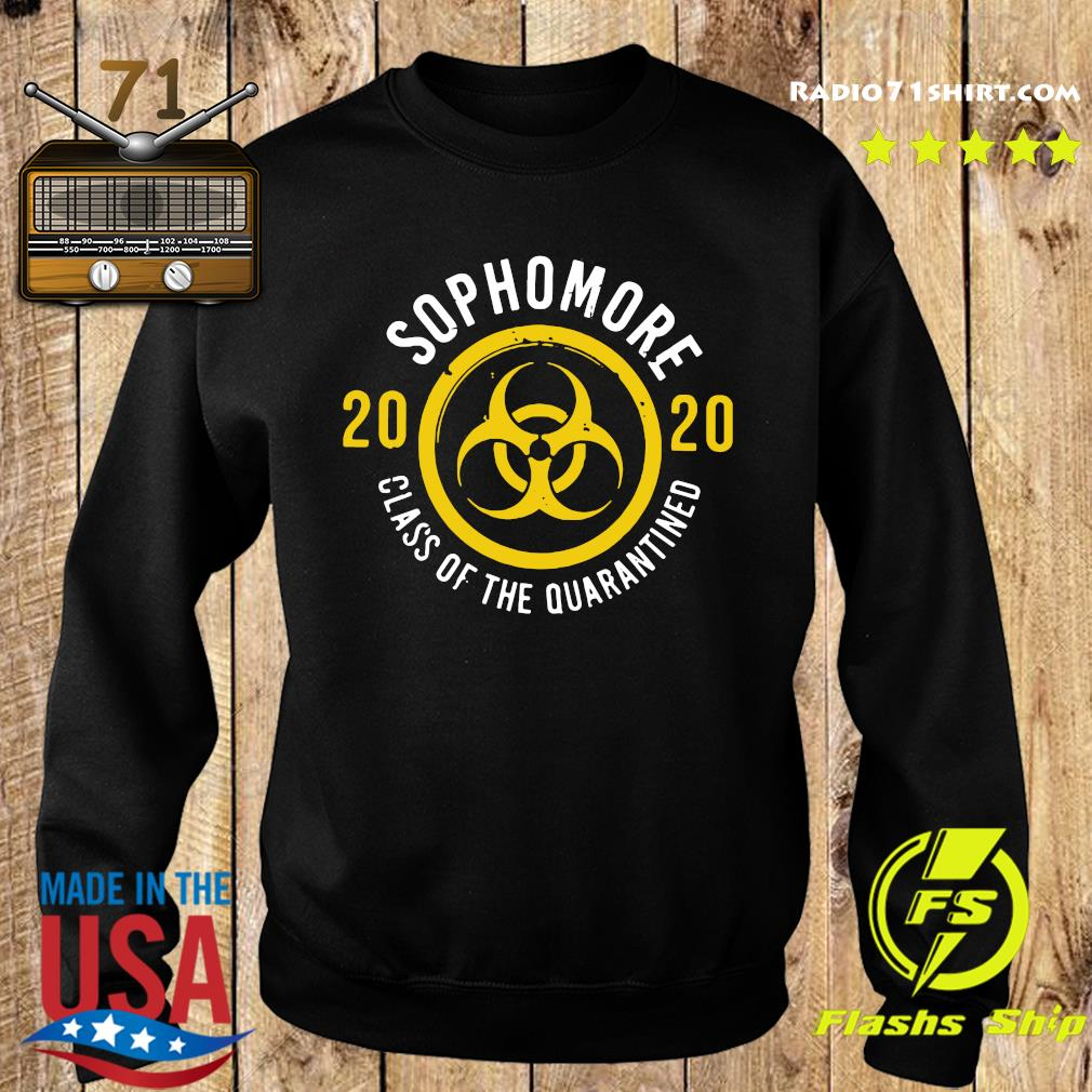 Sophomore 2020 Class Of The Quarantined Shirt Sweater