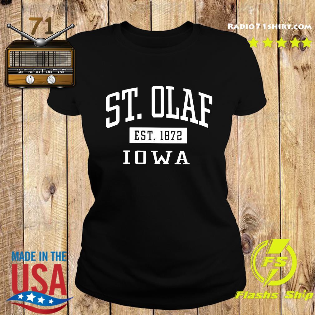 St. Olaf Est 1872 Iowa Shirt Ladies tee