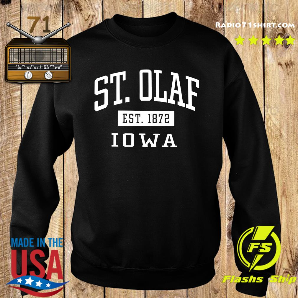 St. Olaf Est 1872 Iowa Shirt Sweater