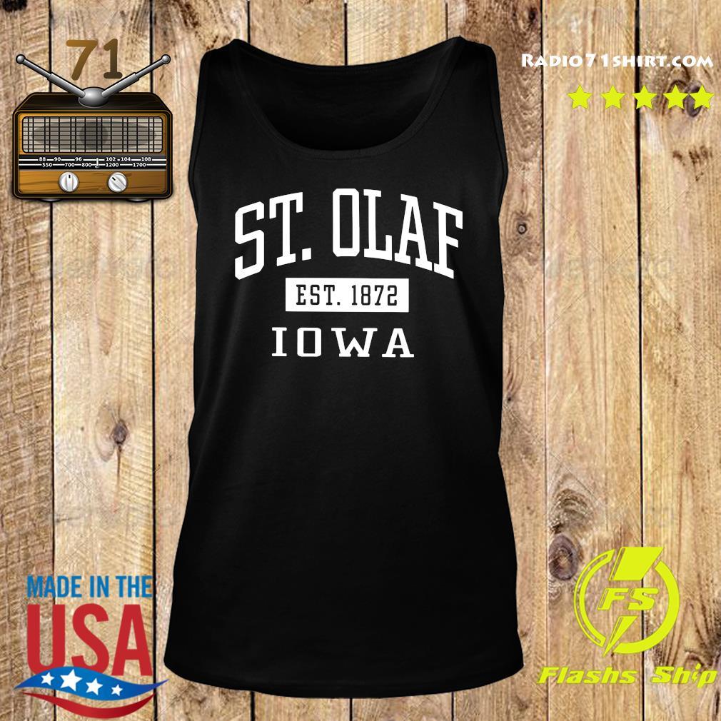 St. Olaf Est 1872 Iowa Shirt Tank top