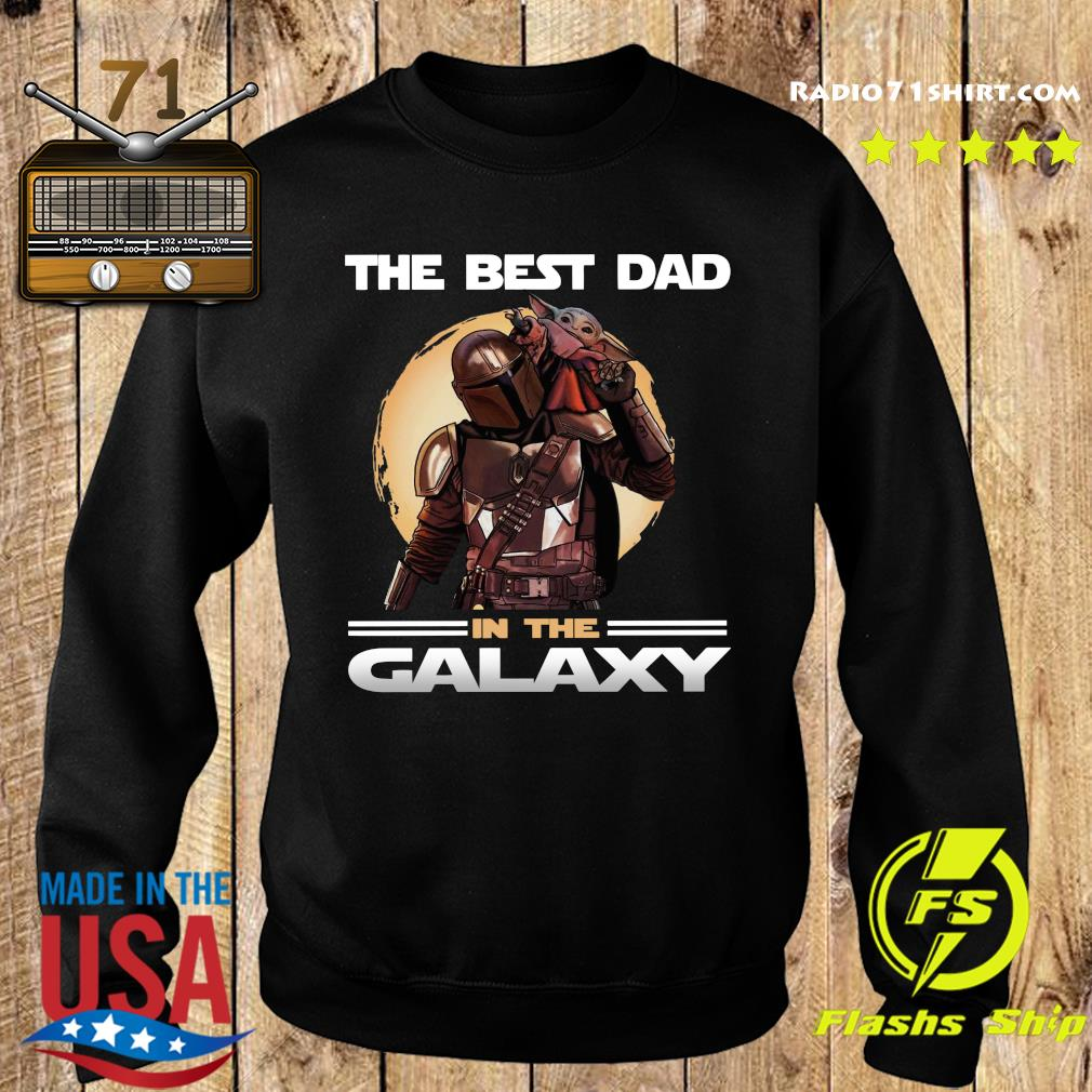 The Mandalorian And Baby Yoda The Best Dad In The Galaxy Shirt Sweater