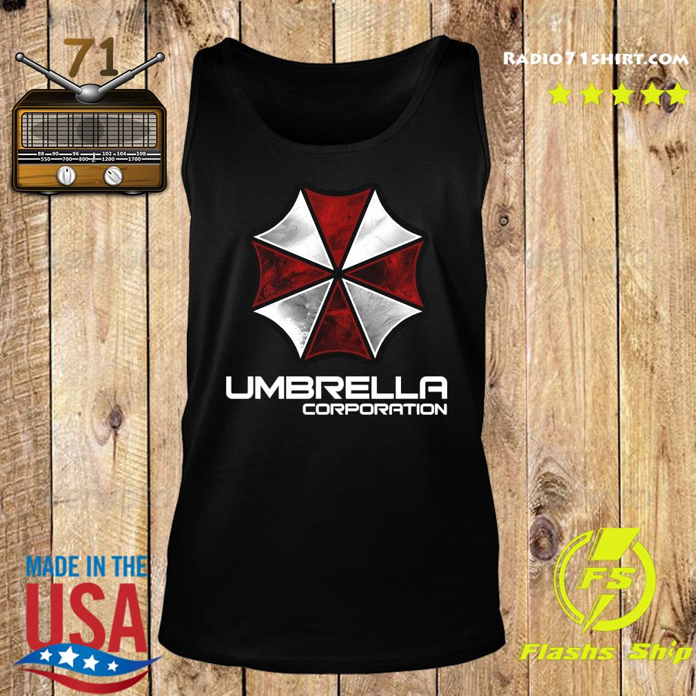 Umbrella Corporation Shirt Tank top