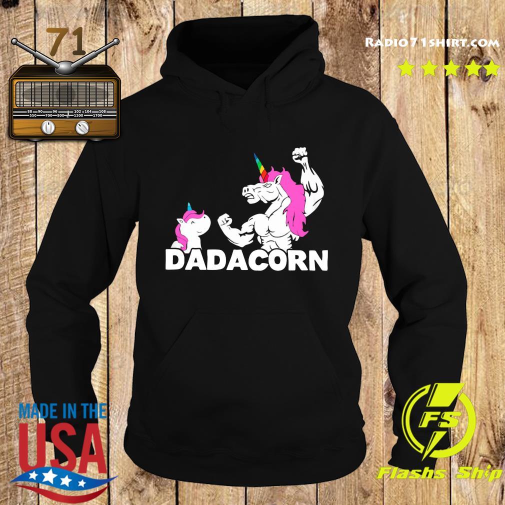 Unicorn Dadacorn Dad Father's Day Shirt Hoodie