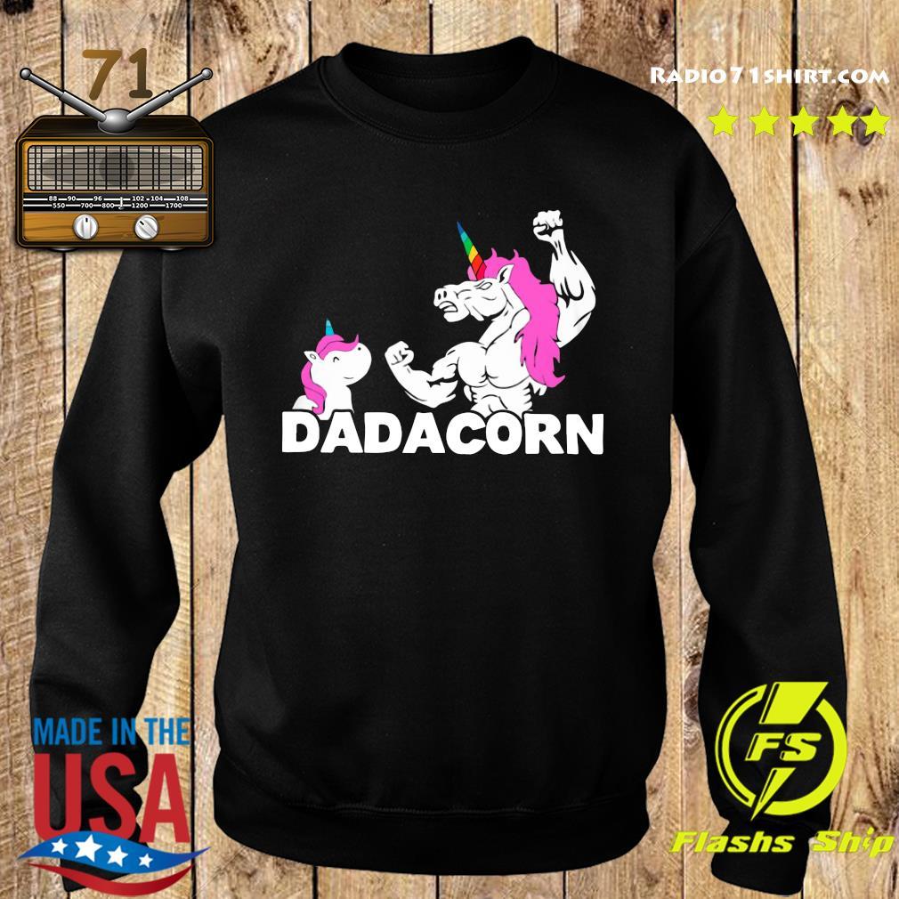 Unicorn Dadacorn Dad Father's Day Shirt Sweater