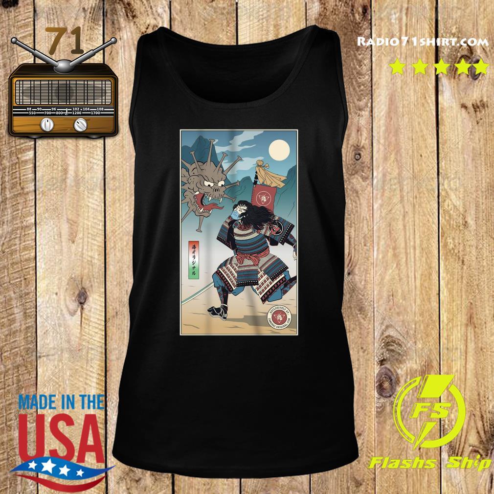 Vintage Samurai Vs Virus Demon No 3 Shirt Tank top