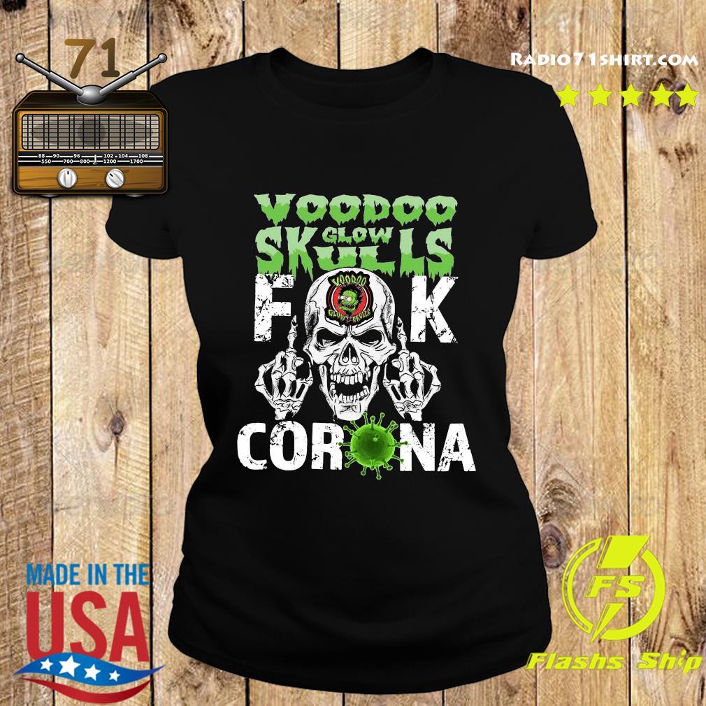 Voodoo Glow Skulls Fuck Coronavirus Shirt Ladies tee