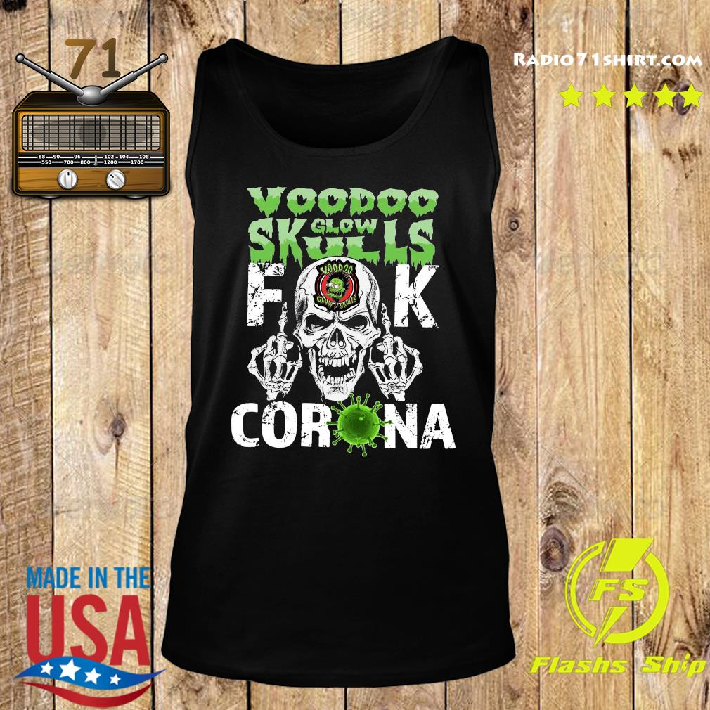 Voodoo Glow Skulls Fuck Coronavirus Shirt Tank top