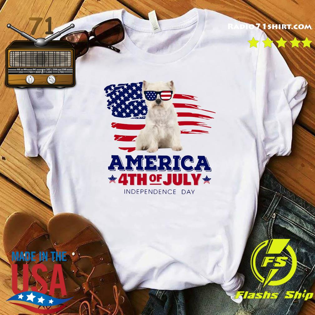 Westie America 4th Of July Independence Day Shirt
