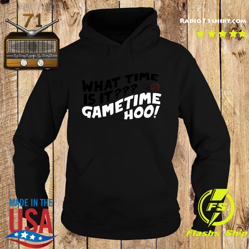 What Time Is It Game Time Hoo Shirt Hoodie