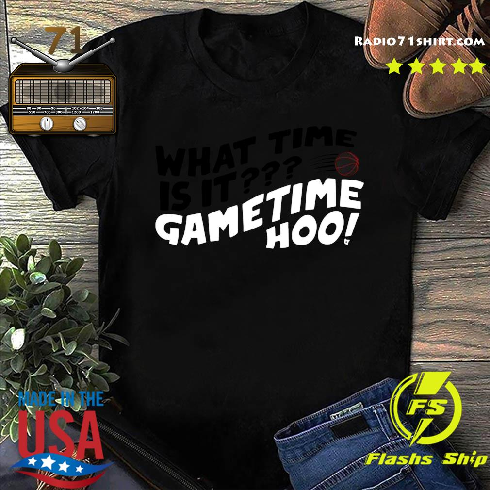What Time Is It Game Time Hoo Shirt