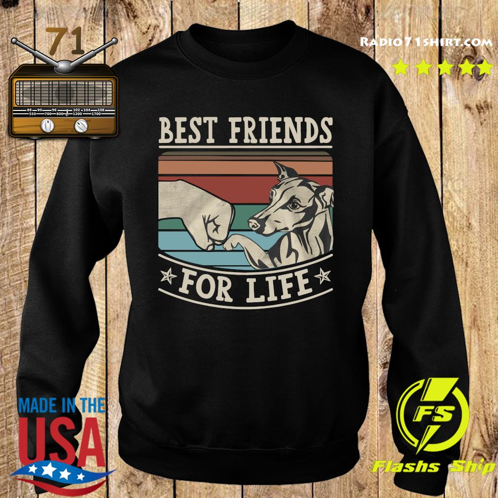 Whippet Best Friends For Life Vintage Shirt Sweater